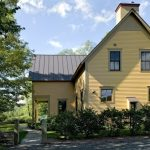 most beautiful exterior of house color combinations bryant gold windows roof plants farmhouse exterior