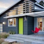 most beautiful exterior of house color combinations green red dark blue midcentury exterior chair windows door