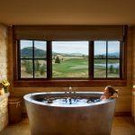 Oval Japanese Style Bathup In En Suite Bathroom
