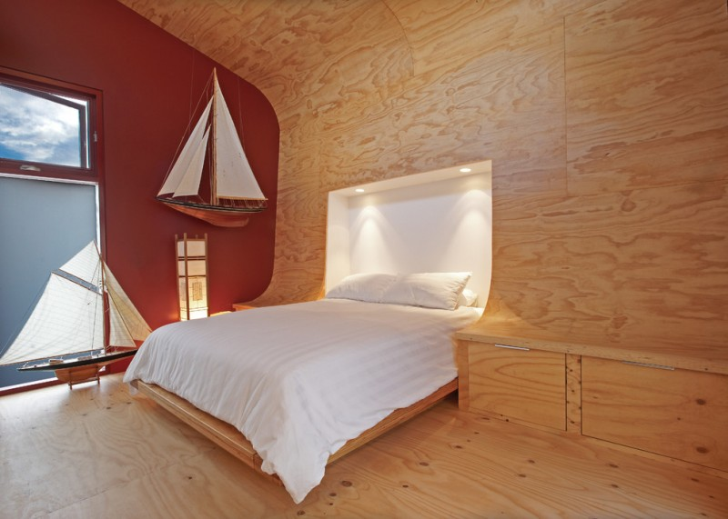 Feel your ultimate sleeping with these tens of cozy for Bedroom designs plywood