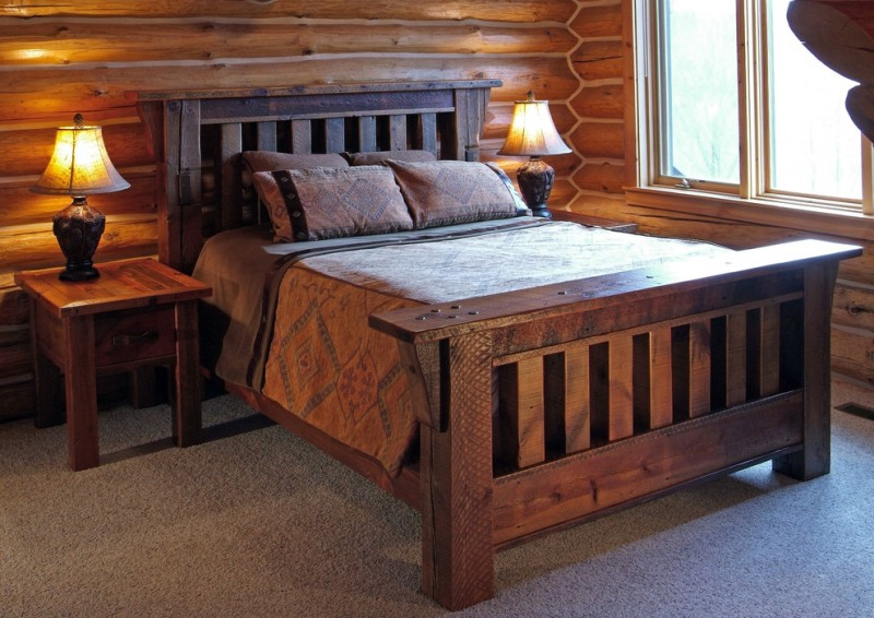 Feel your ultimate sleeping with these tens of cozy for Log cabin style bunk beds