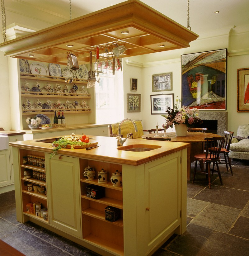 round wooden dining table for small kitchen