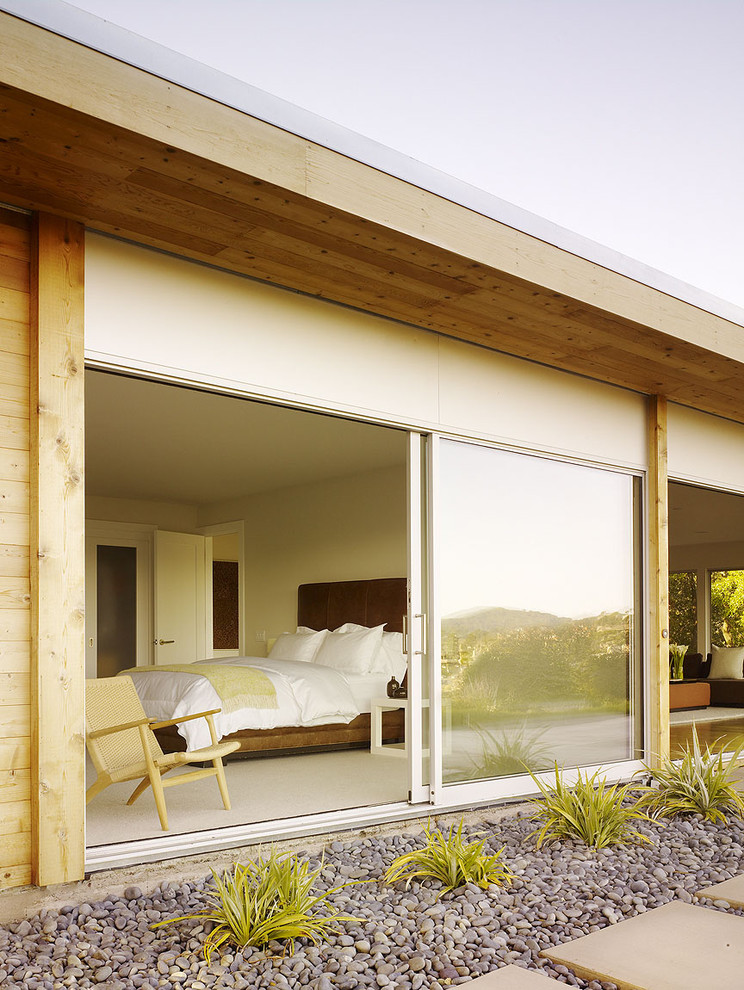 Cool simple glass door for bedroom options for you decohoms - Bedroom with sliding glass doors ...