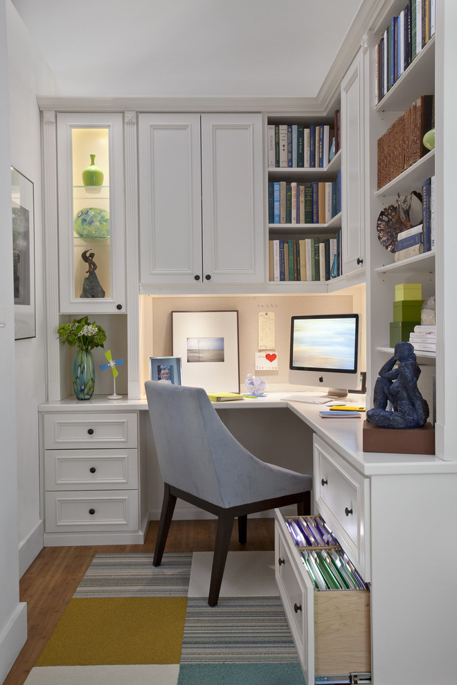 Home Office Decoration for Crisp yet Comfortable Ambiance | Decohoms
