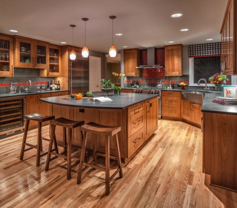 Kitchen Cabinets Wood Choices: Beautiful Soapstone Kitchen Island Choices To Choose From