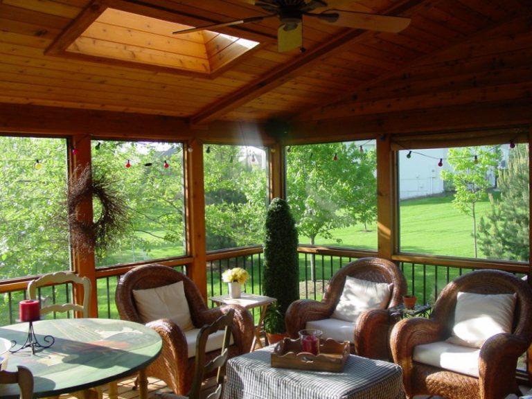 Sunroom Decorating Ideas Four Seasons Room Window