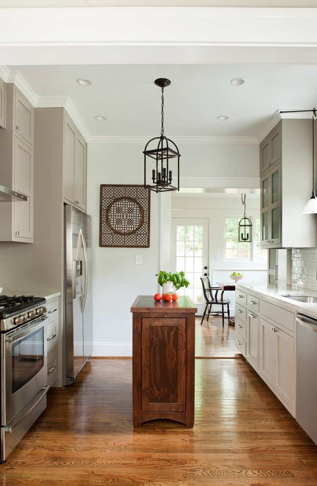 unique small kitchen island ideas wood floor transitional kitchen hanging lamps ceiling lights wall cabinet chair stove drawers window
