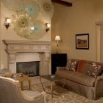 wall hangings for living room simple & artistic carpet chairs tables traditional style fireplace lamps sofa pillows