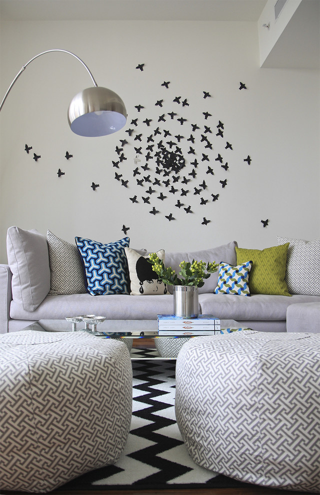 wall hangings for living room simple & artistic sofa pillows lamp contemporary style small birds table