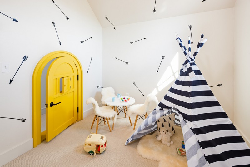 Tens Of Inspiring Wall Paint Ideas In Kids Room Decohoms