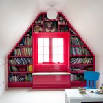 window design for small house bookshelves around a window toy books traditional kids room chair table