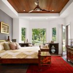 Amazing Asian Themed Bedding Tray Ceiling Wood Ceiling Raised Ceiling Red Asian Rug Oriental Storage