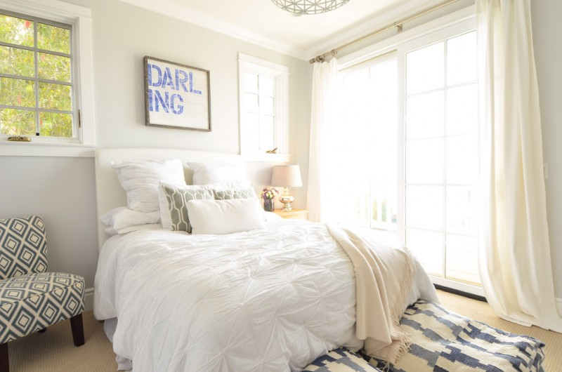 anthropologie style bedding large block darling blue wood wall art white drapery for patio glass door