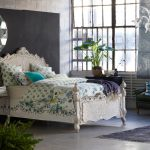 Anthropologie Style Bedding Round Venetian Mirror Dip Dyed Pillow Murano Glass Chandelier Coralie Bed Ardsley Duvet Lattice Throw Rhys Chair Ziya Rug