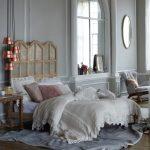 Anthropologie Style Bedding Tiered Lukas Pendant Coralie Bed Ardsley Duvet Luxe Fur Pillow Silken Current Pillow Finn Rocker Chair
