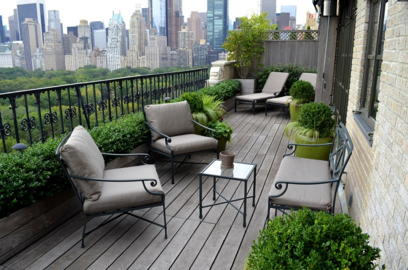 Marvellous Apartment Balcony Furniture to be in Awe Of | Decohoms