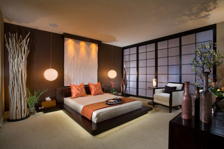 Surprising Glamorously Beautiful Asian Inspired Bedding Designs Decohoms Home Interior And Landscaping Ologienasavecom