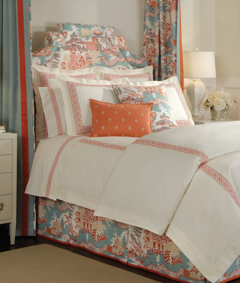 Asian Inspired Bedroom: Glamorously Beautiful Asian Inspired Bedding Designs