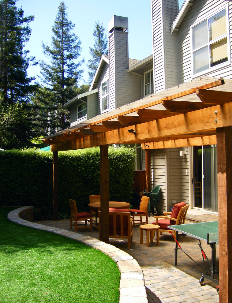 Cool backyard patio covers to get cover design ideas from decohoms - Small covered patio ideas ...