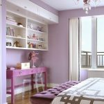 color to paint your bedroom transparent chair light purple walls shelves curtain table bed carpet chandelier transitional room