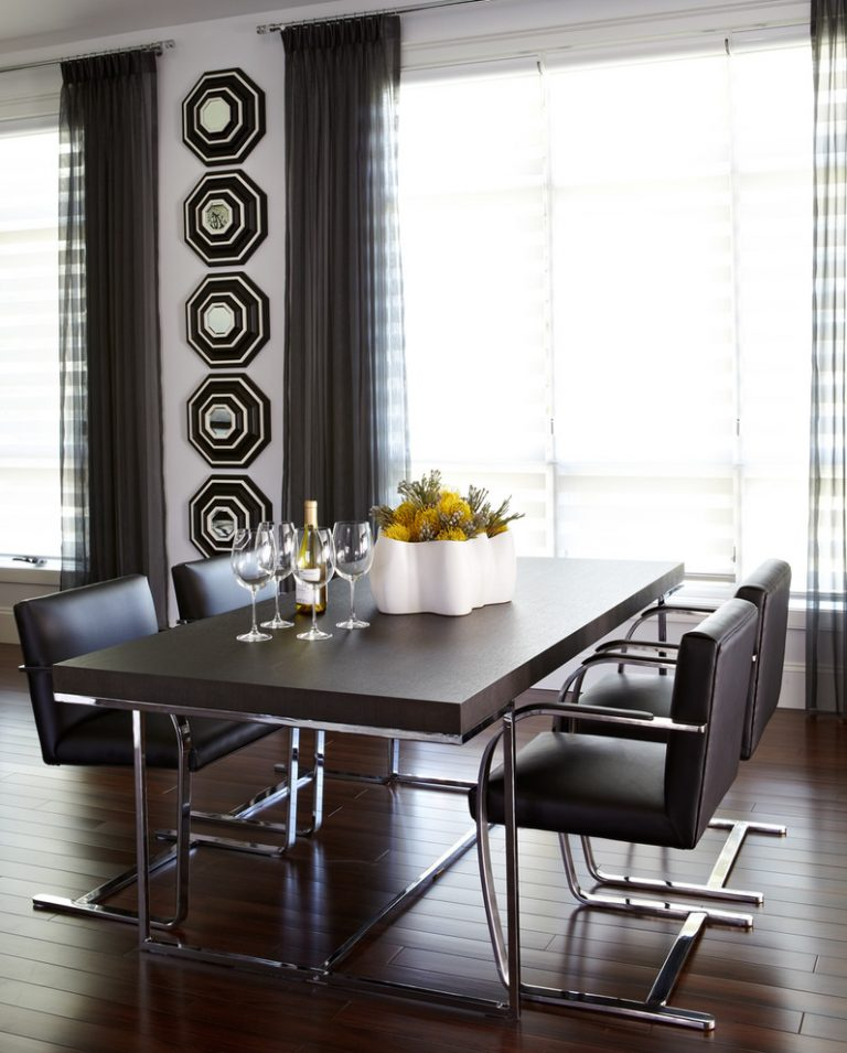 Mirror Dining Room: Creatively Arranged Decorative Mirrors For Dining Room