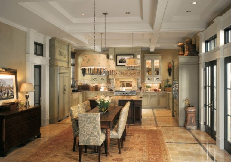 Astonishingly Lovely Farm Style Kitchen Table Choices to Pick From ...