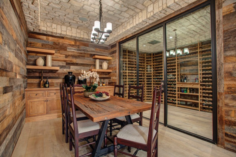 French Provincial Dining Room Furniture Mediterranean Wine Cellar Country Farmhouse Medium Walnut Chair Oak