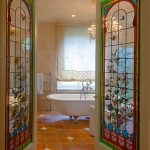 glass doors for bathtub ceiling lights towel rack tub faucets shower window curtains ceramic tiles victorian design