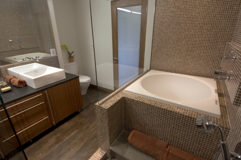 Appealing Japanese Soaking Tub For Small Bathroom Decohoms