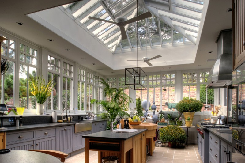 kitchen greenhouse window gloss white modern ceiling fan fulton single light chandelier natural areca palm