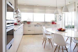 kitchen table sets ikea chairs windows cabinets shelves flowers pendant lights modern kitchen