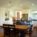 kitchen table sets ikea hardwood floor carpet chairs cabinets fridge faucet decorative plants contemporary kitchen