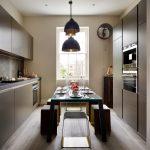 kitchen table sets ikea wood floor seatings window curtain pendant lights contemporary kitchen