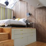 loft beds for teenage girls open space bedroom screened window and door patio door shades built in wood storage