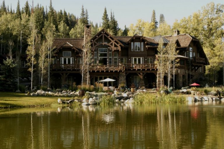Beautiful ideas of luxury ranch house plans to be stunned for Rustic ranch house
