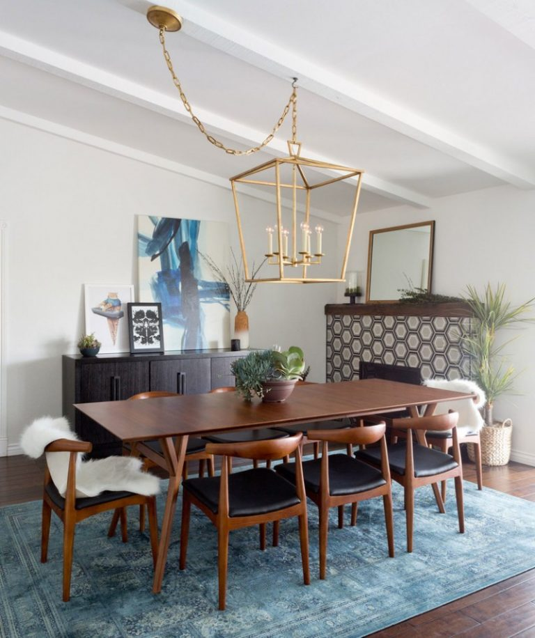 Coolly modern formal dining room sets to consider getting for Contemporary chairs for dining room
