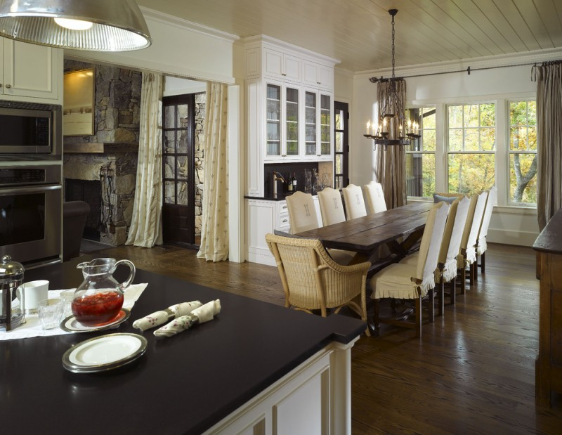 Awesome narrow dining room tables you should peek at for Narrow dining room ideas