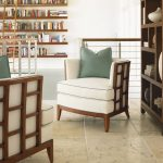 open shelving ocean club tradewinds bookcase contemporary customizable chair reading nook furniture
