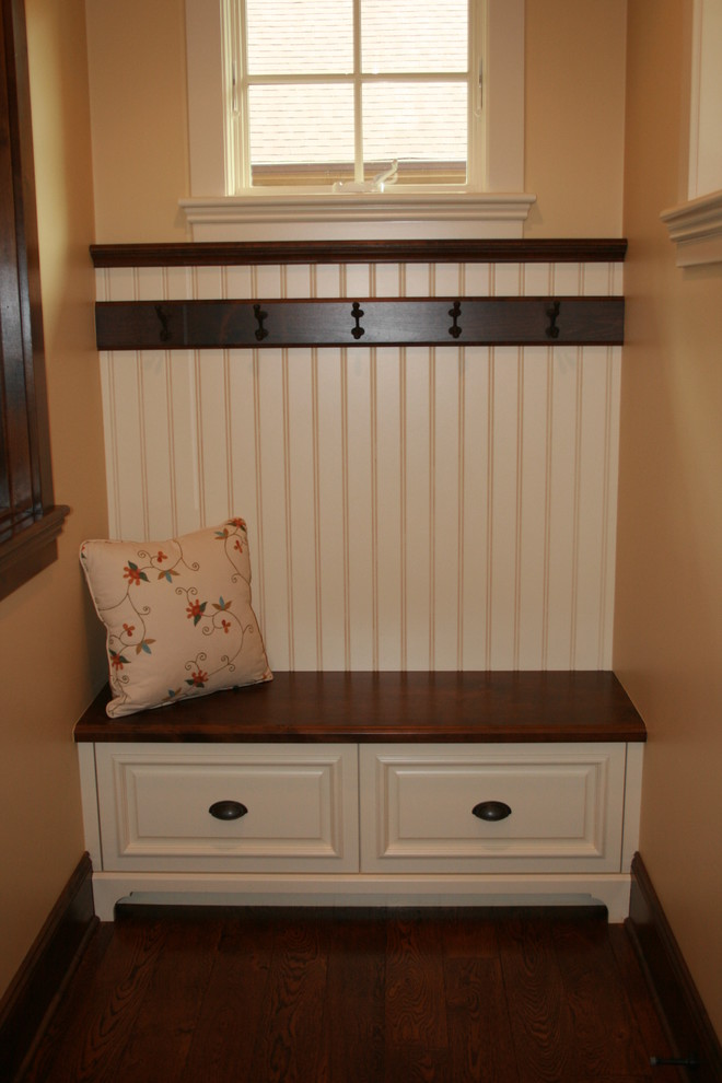 Modern entryway bench with storage top full size of for Entryway mudroom bench