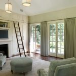 Patio Door Curtain Ideas Contemporary Family Room Satin Nikel Roxy Lantern Column Window And Door Green Couch