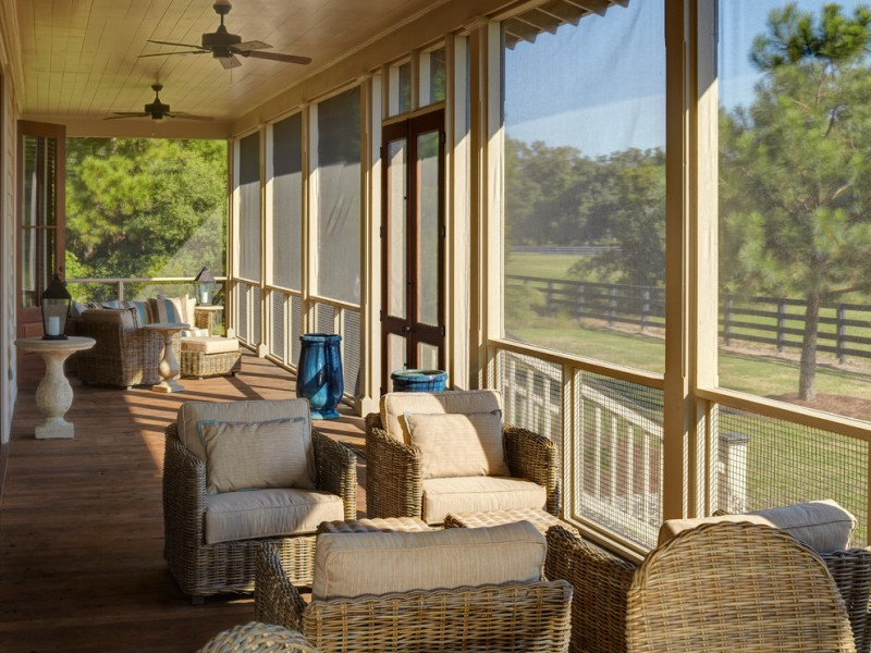 Screened In Porch Roof Ideas