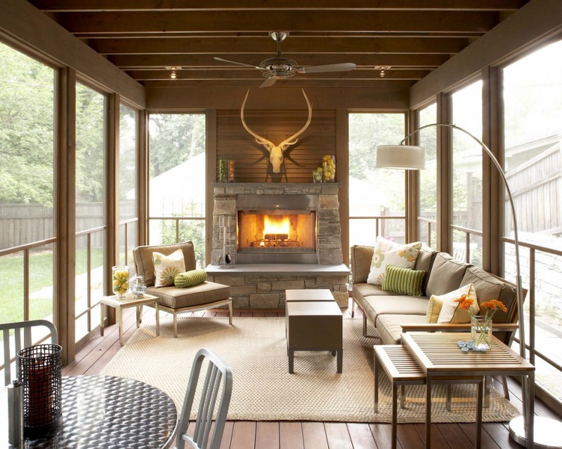 screened in patio ideas brown primary pouf emeco navy chair uniqe wild wall decoration fireplace standing lamp