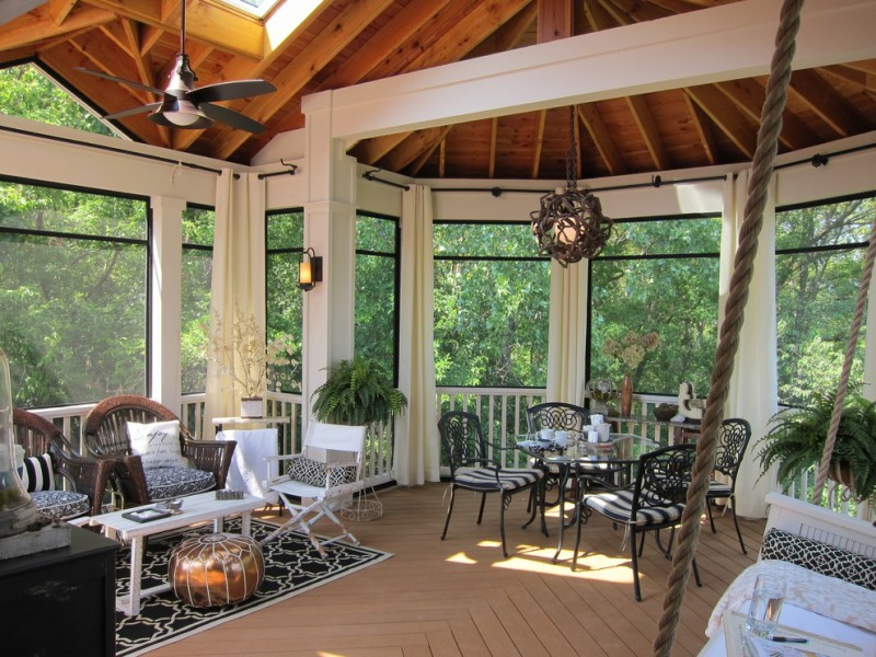 Marvelous Screened In Patio Ideas For Your Beloved Home