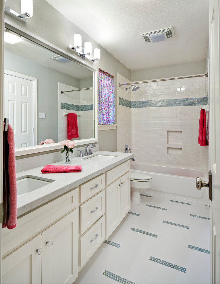 small bathtubs with shower big mirror vanity modern lamps towel racks wall storage transitional bathroom
