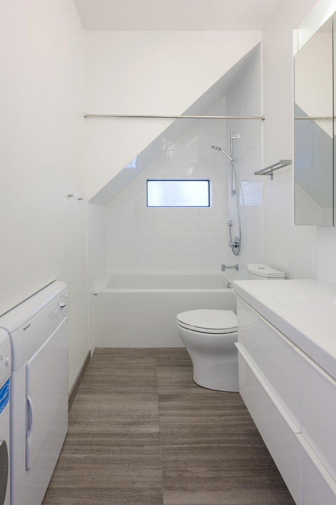small bathtubs with shower toilet towel rack small window mirror contemporary bathroom