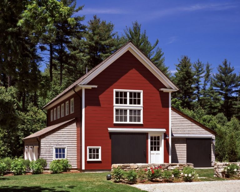 Affordable small home plans with garage decohoms for Affordable barn homes