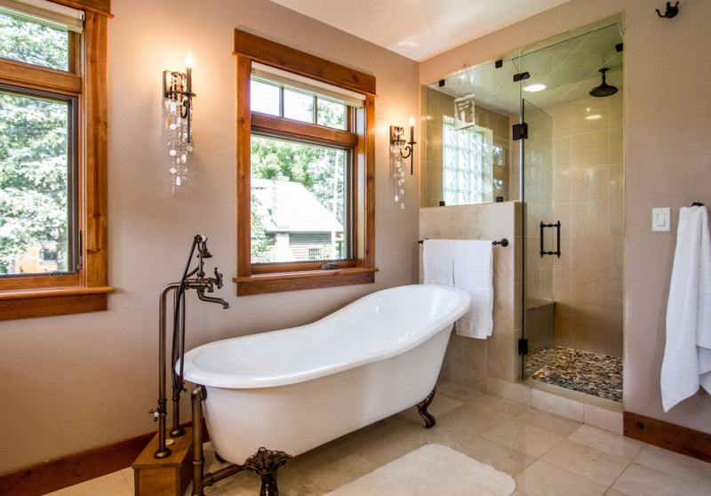 Magnificient Soaker Tub With Shower Ideas Decohoms