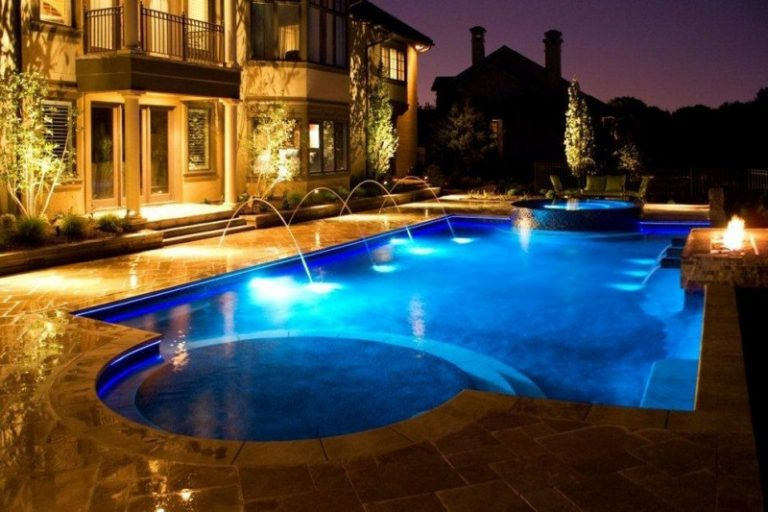 Elegantly Beautiful Travertine Pavers Pool Deck To Feast