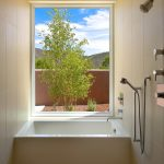 tubs for small bathrooms cube bathtub shower wide window narrow bathroom white tub