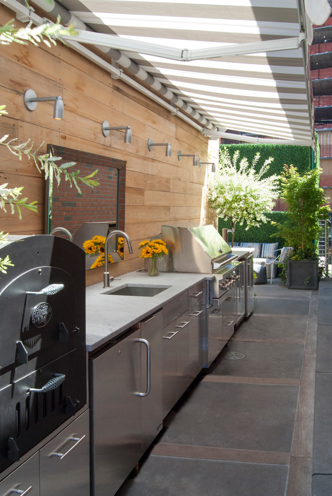Stunningly cool viking outdoor kitchen designs to be for Outdoor kitchen floor plans
